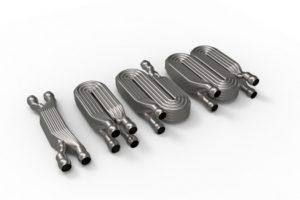 Additiv gefertigte Miniatur-Wärmetauscher Bild: Fraunhofer IWU