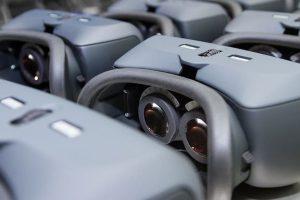 Der Einsatz von 3D-Druck für die Serienfertigung, hier für das Gehäuse des Hoya Vision Simulator, kann Herstellern in wirtschaftlich unsicheren Zeiten unterstützen. Bild: Materialise