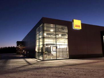 Sandvik Coromant Zentrum in Sandviken.