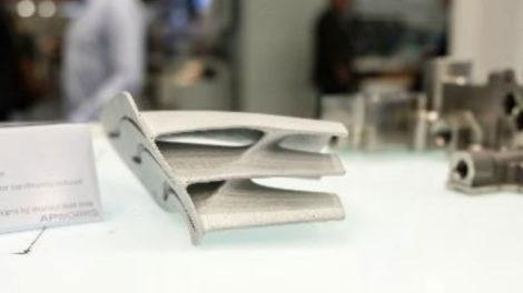 Aerodynamisches Motorsport-Winglet aus Scalmalloy