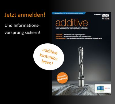 Additive Das Magazin Fur Generative Fertigung